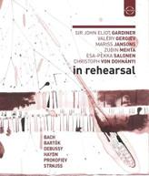 JOHN ELIOT GARDINER / VALERY / JANSONS  GERGIEV - IN REHEARSAL & BLURAY