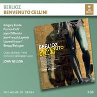 JOHN NELSON / GREGORY / CIOFI KUNDE - BERLIOZ BENVENUTO CELLINI CD