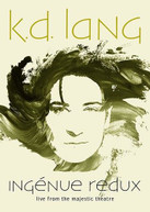 K.D. LANG - INGENUE REDUX: LIVE FROM THE MAJESTIC THEATRE BLURAY
