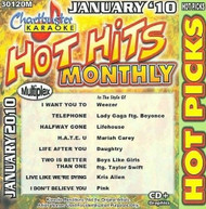 KARAOKE: HOT PICKS JANUARY 2010 / VARIOUS CD
