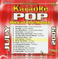 KARAOKE: POP HITS OF THE MONTH - JULY 2009 / VAR CD
