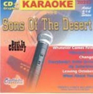 KARAOKE: SONS OF THE DESERT CD