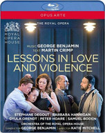 LESSONS IN LOVE & VIOLENCE BLURAY