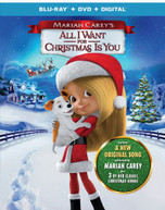 MARIAH CAREY'S: ALL I WANT FOR CHRISTMAS IS YOU BLURAY