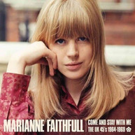 MARIANNE - COME FAITHFULL &  STAY WITH ME: THE UK 45S 1964 - COME & STAY CD
