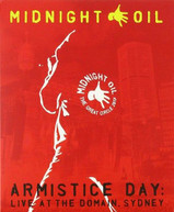 MIDNIGHT OIL - ARMISTICE DAY: LIVE AT THE DOMAIN SYDNEY BLURAY