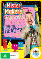 MISTER MAKER'S ARTY PARTY: ARE YOU READY? (2016)  [DVD]