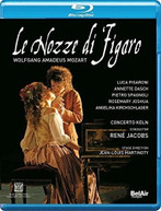 MOZART /  SPAGNOLI / JACOBS - LE NOZZE DI FIGARO BLURAY