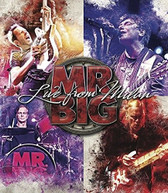 MR BIG - LIVE FROM MILLAN / JAPAN 2017 OFFICIAL BOOTLEG BLURAY