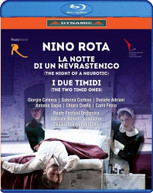 NOTTE DI UN NEVRASTENICO / I DUE TIMIDI BLURAY