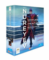 NUREYEV BOX / SWAN LAKE / NUTCRACKER / DON QUIXOTE BLURAY