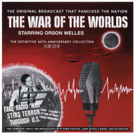 ORSON WELLES - WAR OF THE WORLDS - DEFINITIVE 80TH 1938-2018 CD