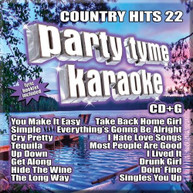PARTY TYME KARAOKE: COUNTRY HITS 22 / VARIOUS CD