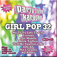 PARTY TYME KARAOKE: GIRL POP 32 / VARIOUS CD
