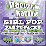PARTY TYME KARAOKE: GIRL POP PARTY PACK 8 / VAR CD