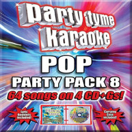 PARTY TYME KARAOKE: POP PARTY PACK 8 / VARIOUS CD