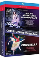 PROKOFIEV /  HOLLAND / FLORIO - CHRISTOPHER WHEELDON BALLETS BOX BLURAY