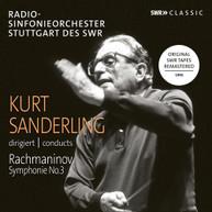 RACHMANINOFF /  SANDERLING - KURT SANDERLING CONDUCTS RACHMANINOV CD