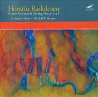 RADULESCU /  JACK QUARTET / CLARKE - HORATIU RADULESCU: PIANO SONATAS VINYL