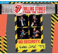 ROLLING STONES - FROM THE VAULT: NO SECURITY SAN JOSE 99 BLURAY