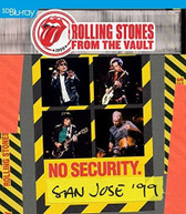 ROLLING STONES - FROM THE VAULTS: NO SECURITY - SAN JOSE 1999 BLURAY