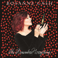 ROSANNE CASH - SHE REMEMBERS EVERYTHING CD.