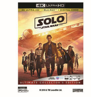 SOLO: A STAR WARS STORY 4K BLURAY