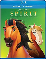 SPIRIT: STALLION OF THE CIMARRON BLURAY.