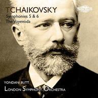 TCHAIKOVSKY /  LONDON SYMPHONY ORCH - SYMPHONIES 5 & 6 CD