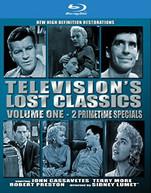 TELEVISION'S LOST CLASSICS 1 BLURAY