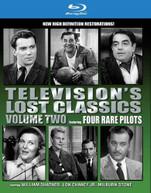 TELEVISION'S LOST CLASSICS 2: RARE PILOTS BLURAY