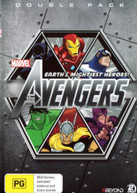 THE AVENGERS: EARTH'S MIGHTIEST HEROES! - DOUBLE PACK 2  [DVD]