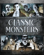 UNIVERSAL CLASSIC MONSTERS: COMPLETE 30 -FILM COLL BLURAY