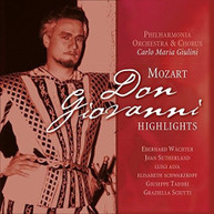 W.A. MOZART - DON GIOVANNI HIGHLIGHTS VINYL