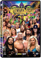 WWE: WRESTLEMANIA 34 DVD