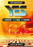 YES / JON / RABIN ANDERSON - LIVE AT THE APOLLO BLURAY