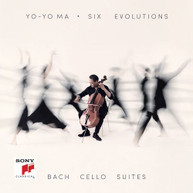 YO MA -YO - SIX EVOLUTIONS - BACH: CELLO SUITES VINYL