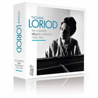 YVONNE LORIOD - COMPLETE VIGA RECORDINGS 1956-1963 CD