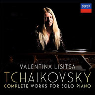 VALENTINA LISITSA - TCHAIKOVSKY: THE COMPLETE SOLO PIANO WORKS * CD