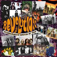 REVOLUTION: UNDERGROUND SOUNDS OF 1968 / VARIOUS CD