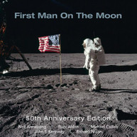 FIRST MAN ON THE MOON 50TH ANNIVERSARY EDITION CD