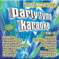 PARTY TIME KARAOKE - SUPER HITS 33 CD
