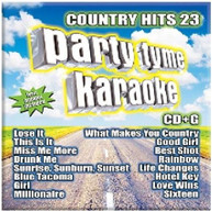 PARTY TIME KARAOKE - COUNTRY HITS 23 CD