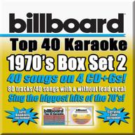 BILLBOARD KARAOKE - BILLBOARD 70'S BOX SET 2 CD
