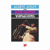 ALBERT AYLER / DON  CHERRY - VIBRATIONS VINYL