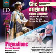 DONIZETTI /  SIRAGUSA / BIANCO - PIGMALIONE / CHE ORIGINALI CD