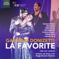 DONIZETTI /  SIMEONI - FAVORITE CD