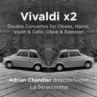 VIVALDI - DOUBLE CONCERTOS CD