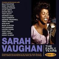 SARAH VAUGHAN - EARLY YEARS 1944-48 CD