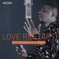 BITTY / SLY MCLEAN &  ROBBIE - LOVE RESTART VINYL